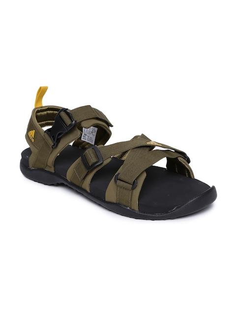 Adidas Men Olive Green Gladi Sports Sandals