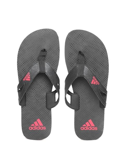 Adidas Men Black OZOR II Printed Flip-Flops