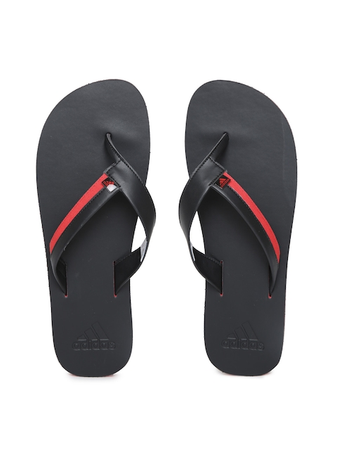 ADIDAS Men Black & Red Brizo 3.0 Flip-Flops