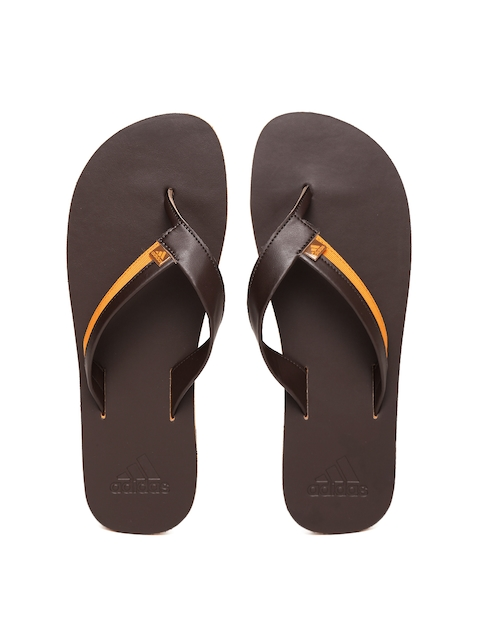 ADIDAS Men Coffee Brown Brizo 3.0 Flip-Flops