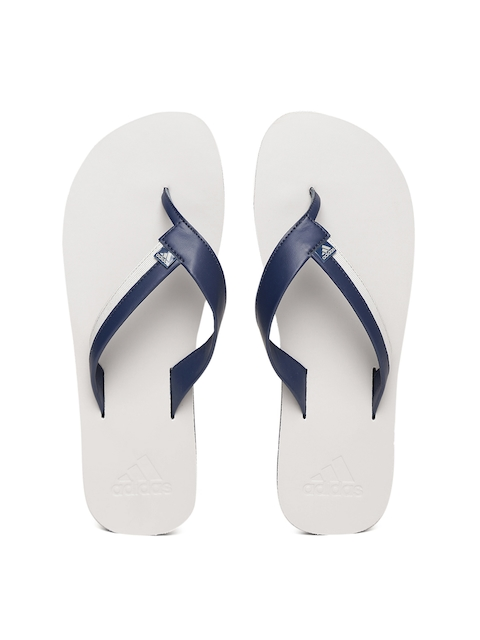 ADIDAS Men Navy & Grey Brizo 3.0 Flip-Flops