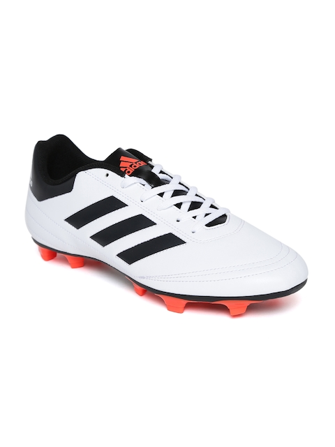ADIDAS Men White Goletto VI FG Football Shoes