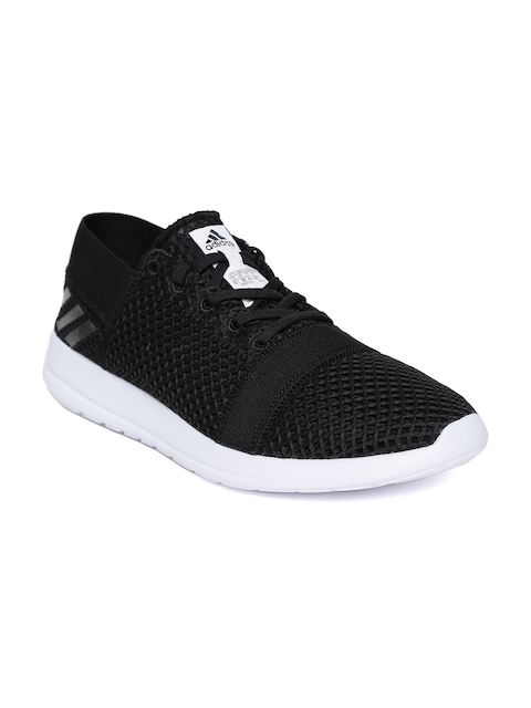 ADIDAS Men Black Element Refine 3 Running Shoes