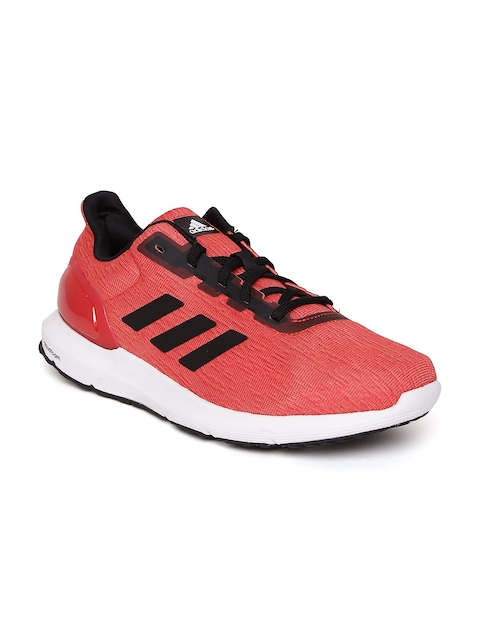 Adidas Men Coral Red Cosmic 2 Running Shoes
