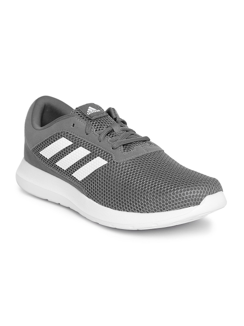 Adidas Men Grey Element Refresh 3 Running Shoes