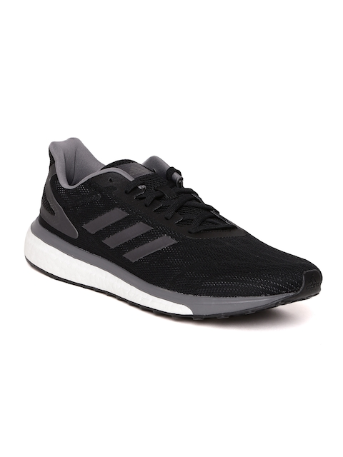 Adidas Men Black RESPONSE LT Running Shoes