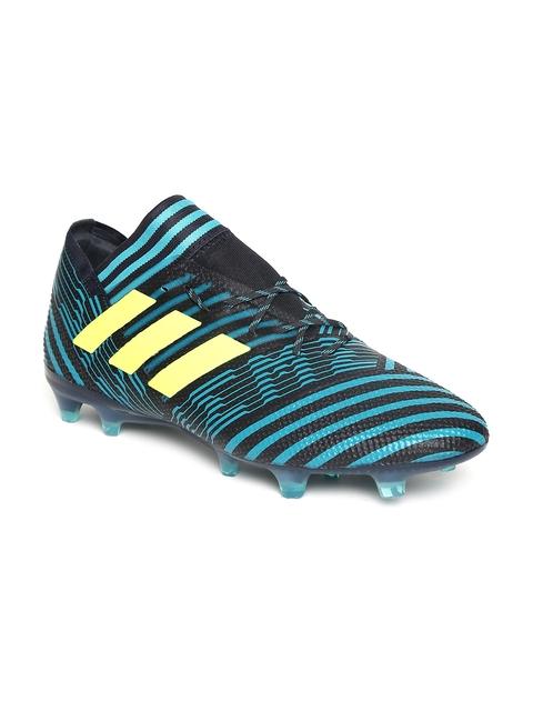 Adidas Men Blue NEMEZIZ 17.1 FG Football Shoes