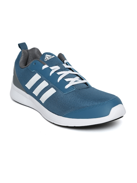 ADIDAS Men Teal Blue YKING 1.0 Running Shoes