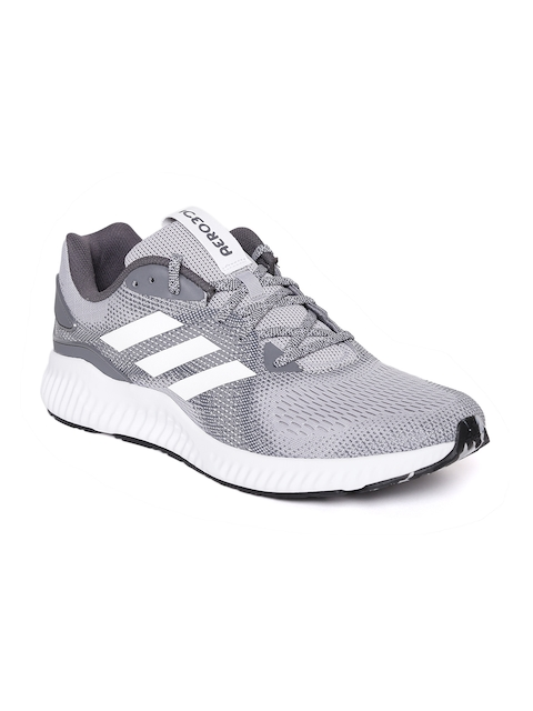 Adidas Men Grey Aerobounce ST Running Shoes