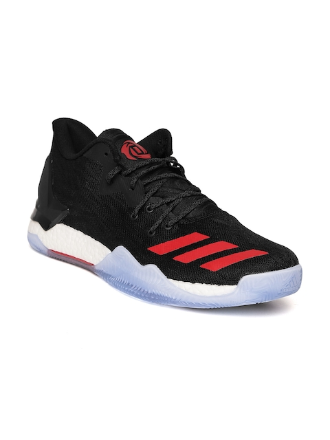 Adidas Men Black D Rose 7 Low Basketball Shoes