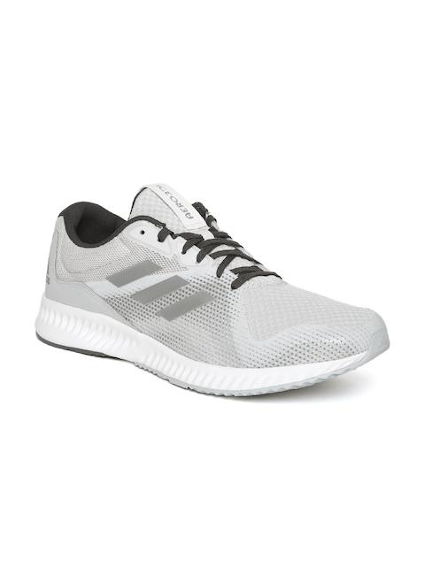 Adidas Men Grey Aerobounce Racer Running Shoes