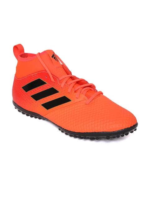 ADIDAS Men Orange Ace Tango 17.3 Turf Football Shoes