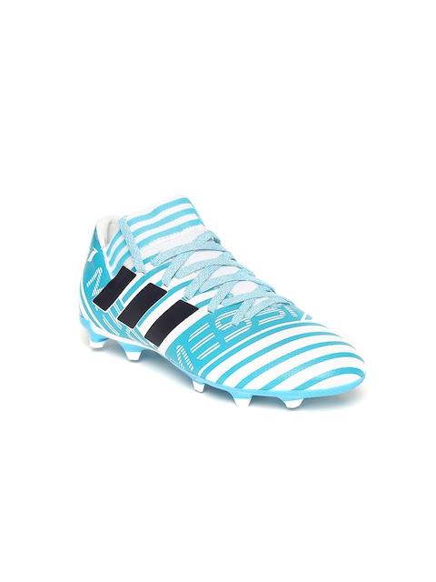 Adidas Boys Blue NEMEZIZ Messi 17.3 FG J Football Shoes
