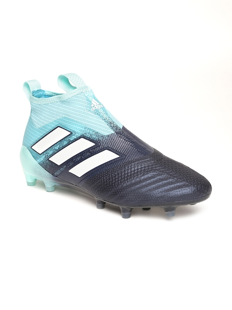 Adidas Men Blue Ace 17+ Pure Control Mid-Top Football Shoes