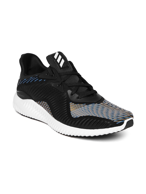 Adidas Men Black Alphabounce HPC Printed Running Shoes