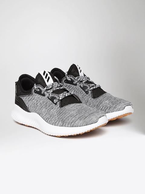 Adidas Women Grey Melange & Black Alphabounce Lux Running Shoes