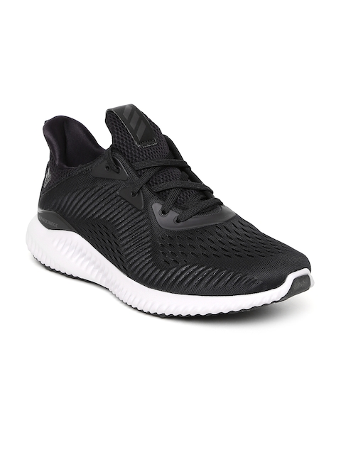 Adidas Men Black ALPHABOUNCE EM Running Shoes