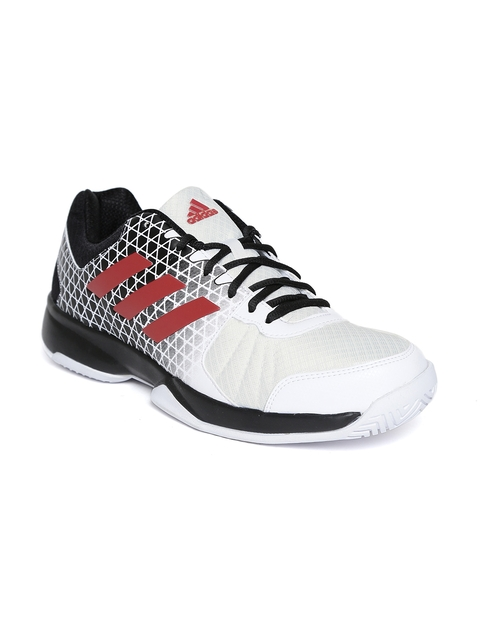 Adidas Men Off-White NET NUTS Printed Tennis Shoes