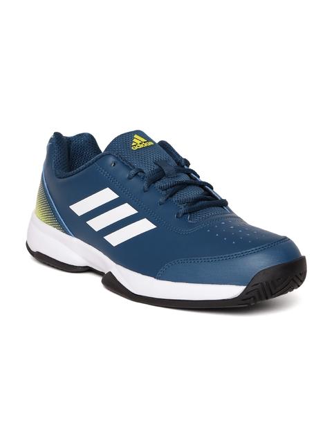 Adidas Men Blue Racquettes Tennis Shoes