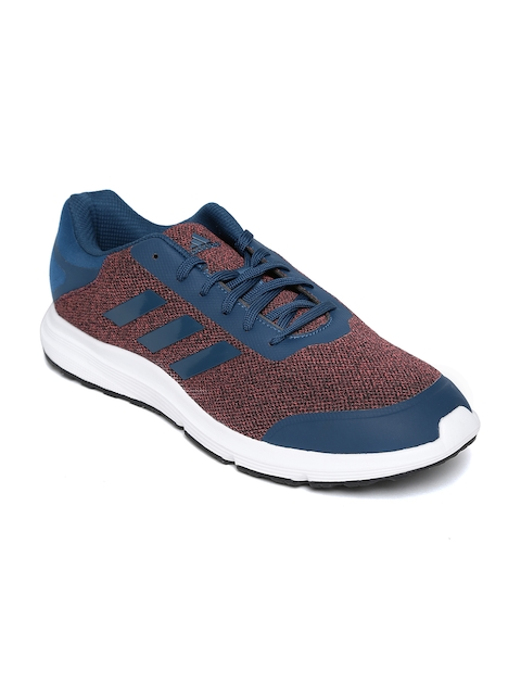 Adidas Men Peach-Coloured & Teal Blue Stardrift Running Shoes
