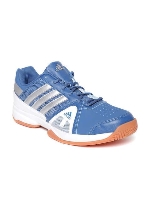 ADIDAS Men Blue Net Setters Indoor Shoes