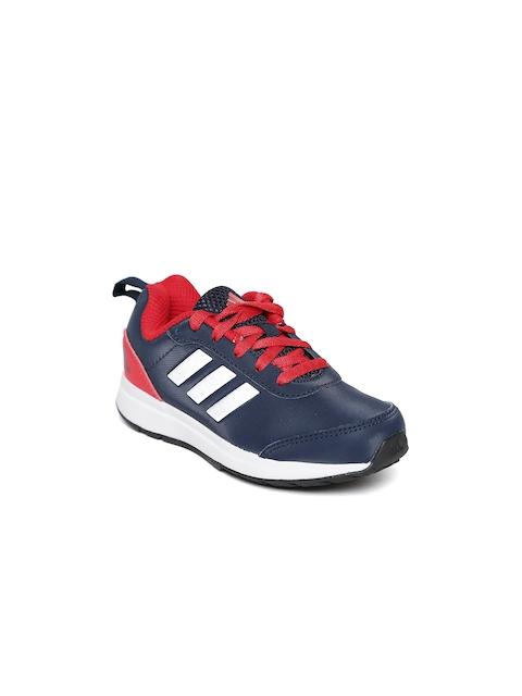 Adidas Boys Navy Cyrus K 1.0 Running Shoes