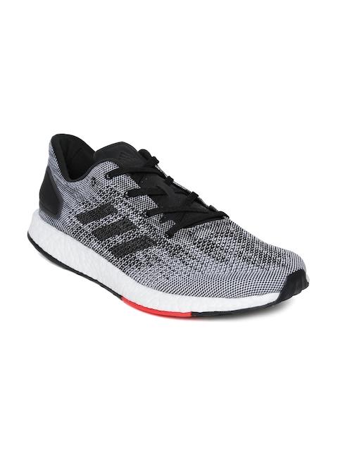 Adidas Men Black & White PUREBOOST DPR Running Shoes