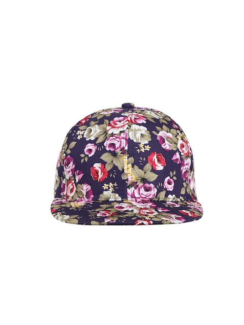 Ayesha Women Multicoloured Floral Print Cap