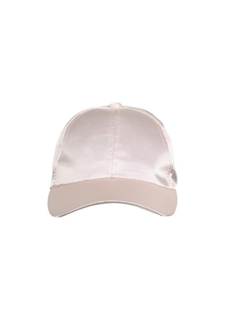 Ayesha Women Pink Glossy Baseball Cap