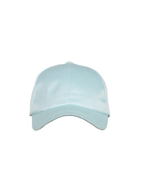 Ayesha Women Blue Glossy Baseball Cap