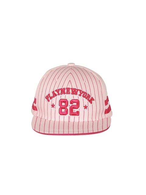 Ayesha Women Pink Embroidered Baseball Cap