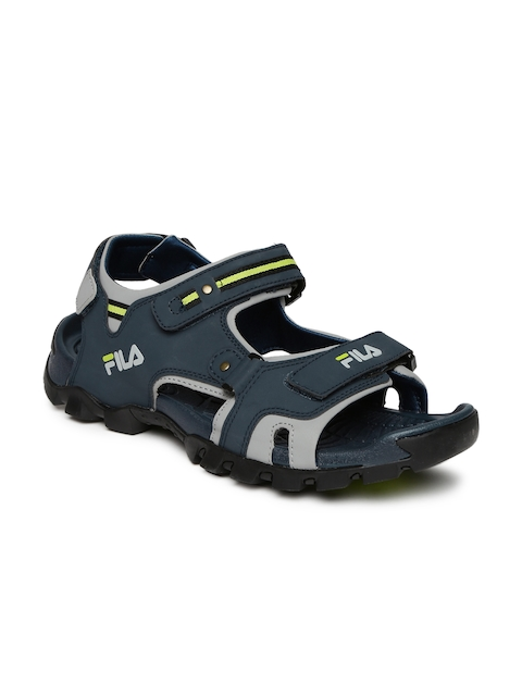 FILA Men Navy Eudora Sports Sandals