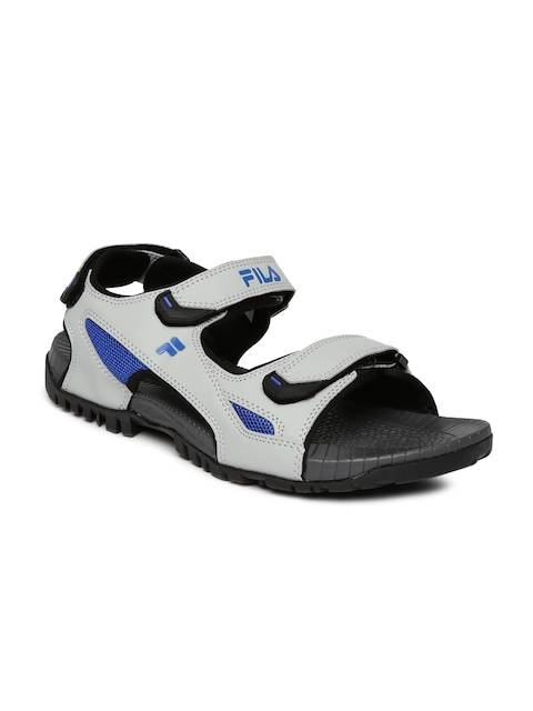FILA Men Grey Eagle Sports Sandals  available at myntra for Rs.659
