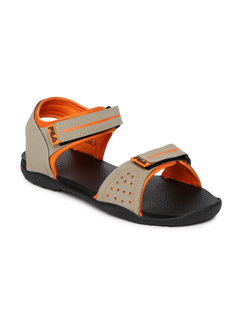 FILA Men Beige Elwald Sports Sandals  available at myntra for Rs.509