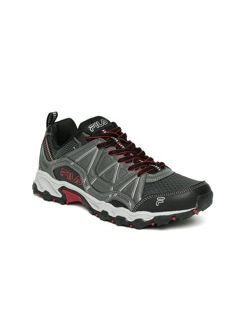 FILA Men Charcoal Grey At Peake Trekking Shoes