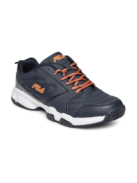 FILA Men Navy Blue Becker Tennis Shoes
