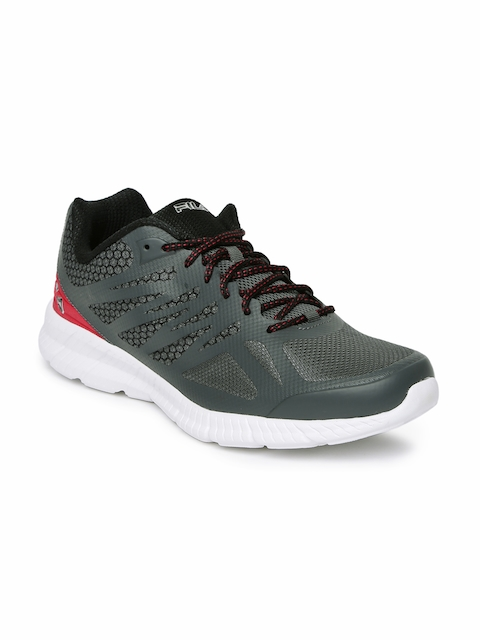 FILA Men Grey Memory Speedstride Running Shoes