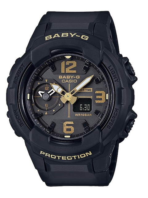 CASIO Baby-G Women Black Analogue & Digital Watch