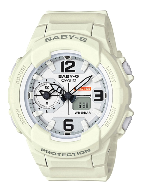 CASIO Baby-G Women White Analogue & Digital Watch B173