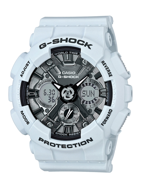 Casio G-Shock GMA-S120MF-2ADR (G731) Analog Digital Grey Dial Men's Watch