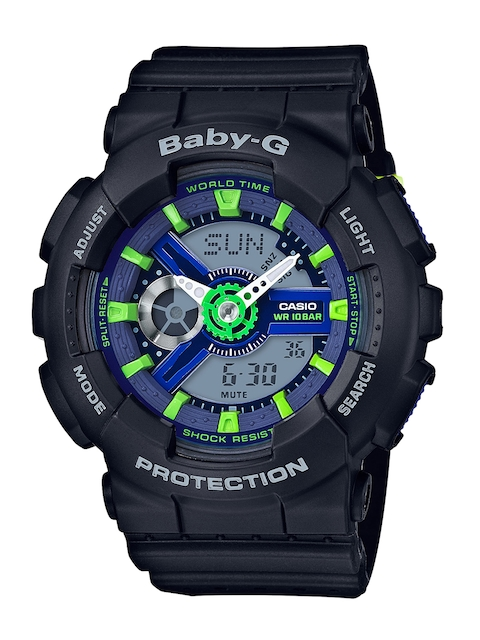 CASIO Baby-G Women Black Analogue & Digital Watch B178
