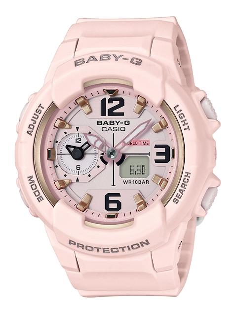 Casio Baby-G B185 Pink Analogue & Digital Women's Watch