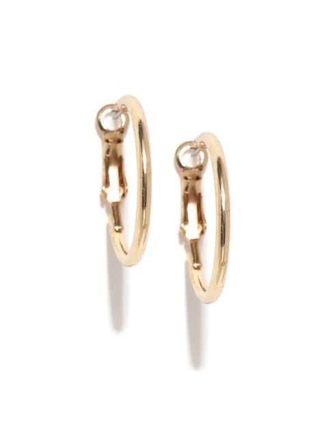 Accessorize Gold-Toned Hoop Earrings