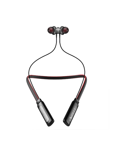 Boult Red Audio Curve Neckband Wireless Bluetooth 4.2 Magnetic Earphone with Mic