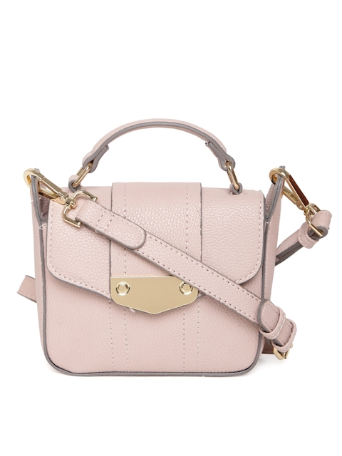 Accessorize Pink Solid Sling Bag