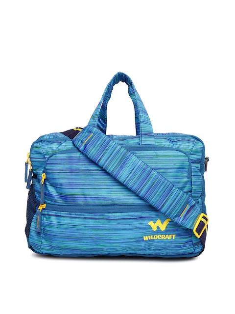Wildcraft Unisex Blue Laptop Bag