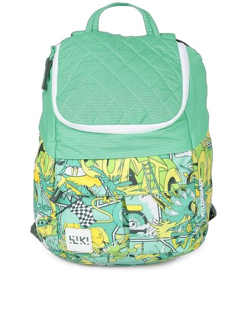 Wildcraft Unisex Green Printed Backpack