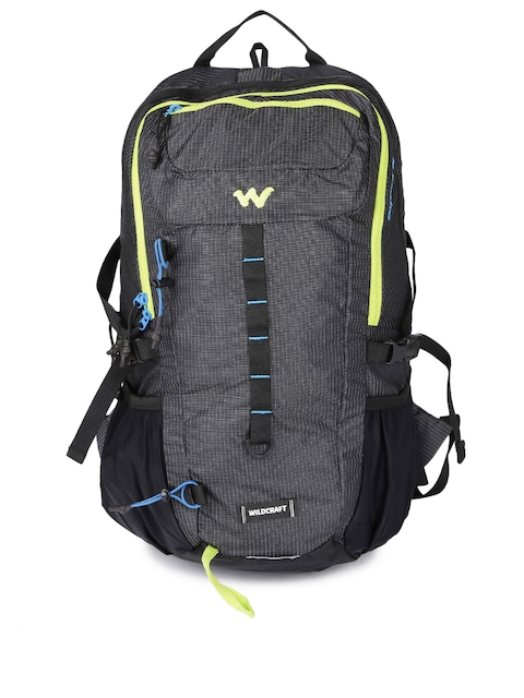 Wildcraft Unisex Charcoal Grey Printed Daypack 30 Rucksack