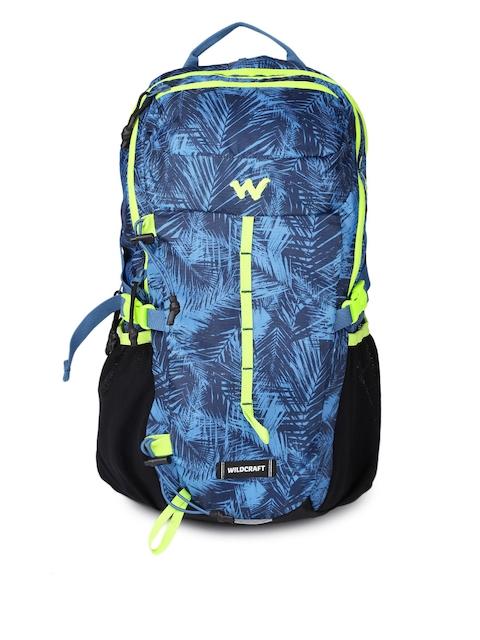 Wildcraft Unisex Blue Printed Daypack 25 Rucksack