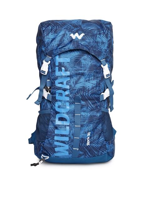 Wildcraft Unisex Blue Printed Rock Rucksack